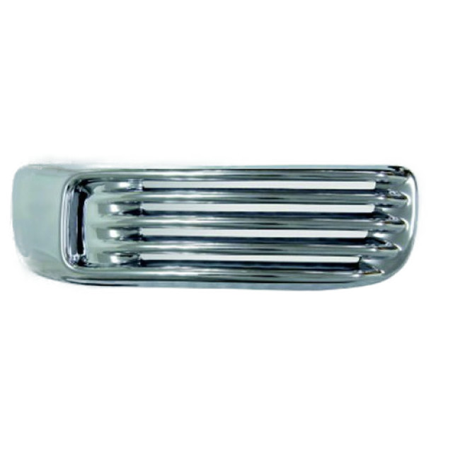 BW サイドベンチレーターカバー L/R いすゞ大型 NEWギガ(H22.5~H27.10) 樹脂メッキ かぶせ式 [3128442]