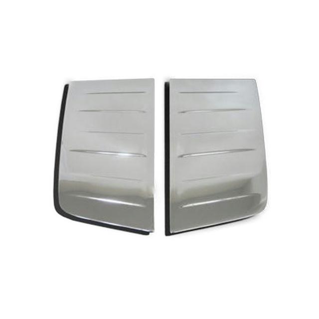 BW ベッド窓ガーニッシュ L/R 日産UD大型 17/クオン(H17.4~ ) 樹脂メッキ かぶせ式 [3128633]
