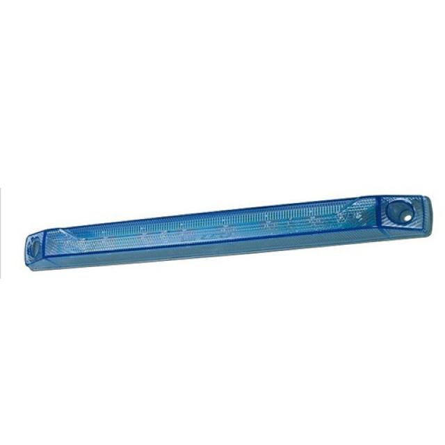 小糸製作所(KOITO) LEDロングマーカーランプ ブルー 1個 [335.4mm×31.8mm×高さ30.5mm][LED-MLB]
