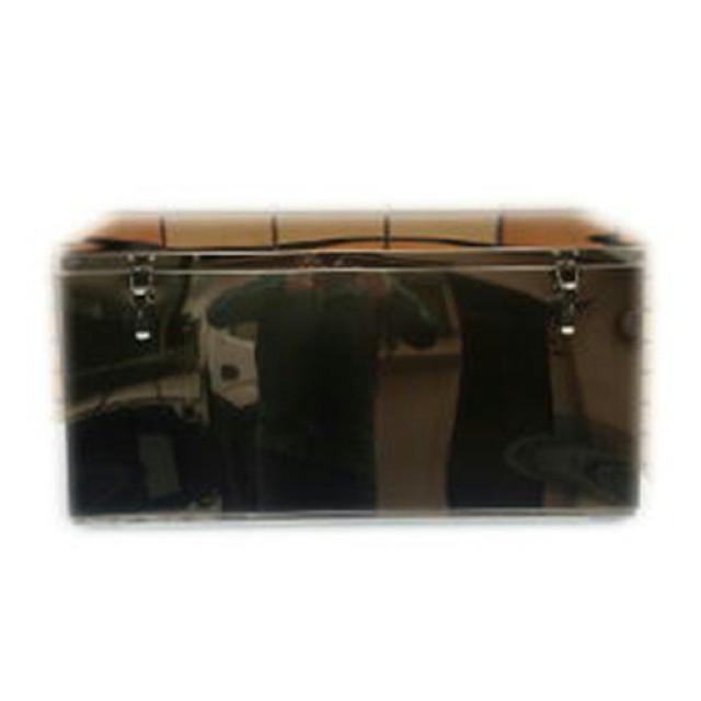オールステンレス工具箱 750大 [MSB-509] ※w750×h450mm(上段奥行350mm、下段奥行455mm)