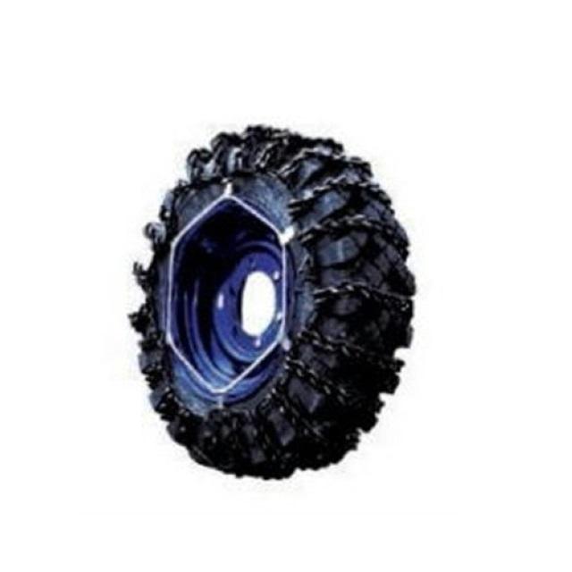 [メーカー直送品] ミニショベル用(段増) タイヤチェーン(建設特殊車用) 5.70-12 線径5×7 [MD8326] ※商品は1本単位(1輪分)
