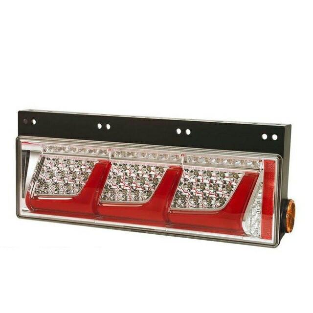 小糸製作所(KOITO) 3連LEDテールランプ L/R [レッドVer:リレー無(ウィンカー全灯) ] [LEDRCL-24L21_24R21]