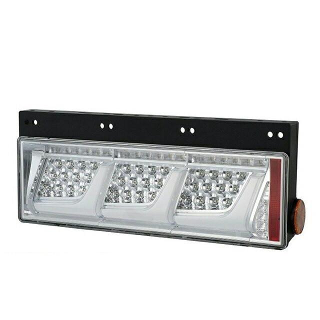 小糸製作所(KOITO) 3連LEDテールランプ L/R [クリアVer:リレー無(ウィンカー全灯) ] [LEDRCL-24LC_24RC]