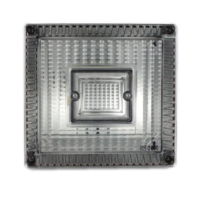 JB 角型<06>大型テールランプ単体 [白]1個(179×189×114.6mm) ※DC24V専用 [92440643]