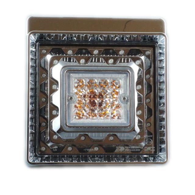 JB 角型LEDテールランプ単体 赤/橙 DC24V専用 [9249060C]