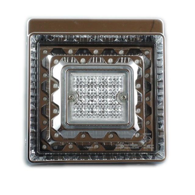 JB 角型LEDテールランプ単体 赤 DC24V専用 [9249061D]