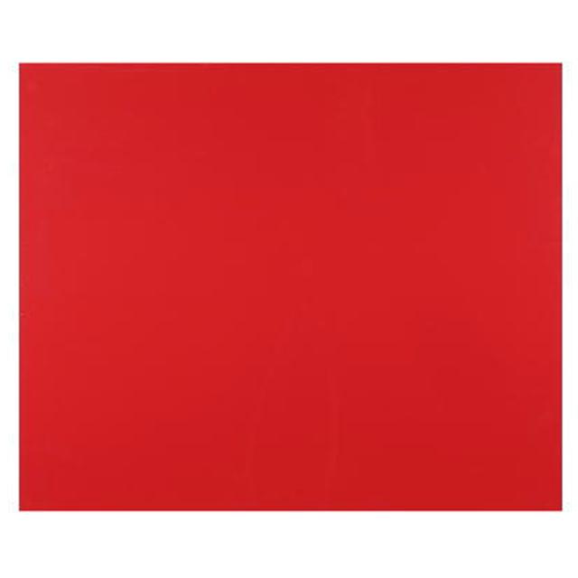 JB 爆売り 品質保証 EVA泥除け 赤 1枚 450×500mm 厚さ2mm