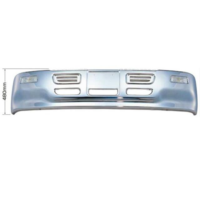 [メーカー直送品] JET プロフィアタイプバンパー 4t ワイド車用 H480 ※取付ステー別売 [501003]