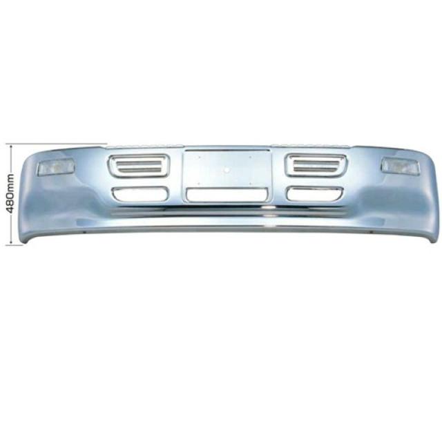 [メーカー直送品] JET プロフィアタイプバンパー大型車用 H480 [プロフィアH4.7~H12.3はボルトオンで取付可] ※取付ステー別売 [501005]