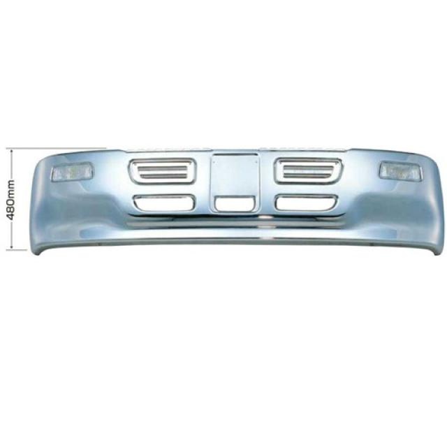 [メーカー直送品] JET プロフィアタイプバンパー 4t 標準車用 H480 ※取付ステー別売 [501065]