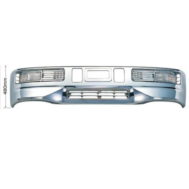 [メーカー直送品] JET スーパーグレートタイプバンパー 4t ワイド車用 H480 ※取付ステー別売 [510412]