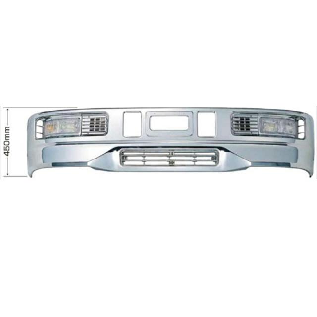 [メーカー直送品] JET スーパーグレートタイプバンパー 4t 標準車用 H450 ※取付ステー別売 [510413]