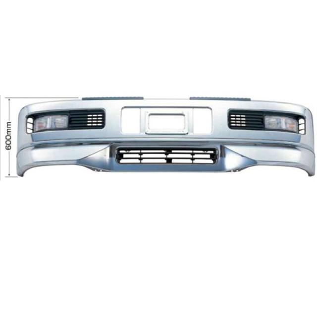[メーカー直送品] JET スーパーグレートタイプバンパー大型車用 H600 [スーパーグレートH8.6~H17.7はボルトオンで取付可] ※取付ステー別売 [510416]