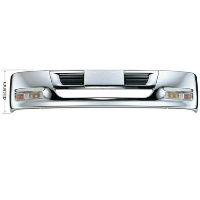 [メーカー直送品] JET プロフィアテラヴィタイプバンパー 4t ワイド車用 H450 ※取付ステー別売 [510453]