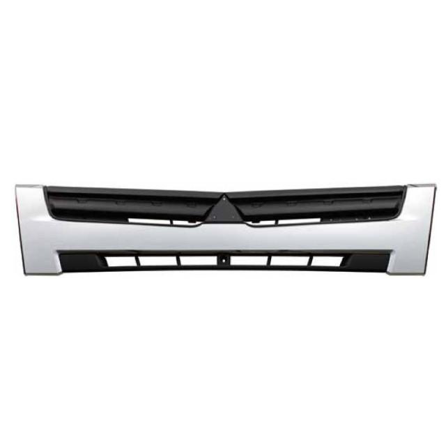 [お取寄せ] JET ふそう2t ブルーテックキャンターワイド車(H22,11~) フロントグリル ※ツートンメッキ [573350]