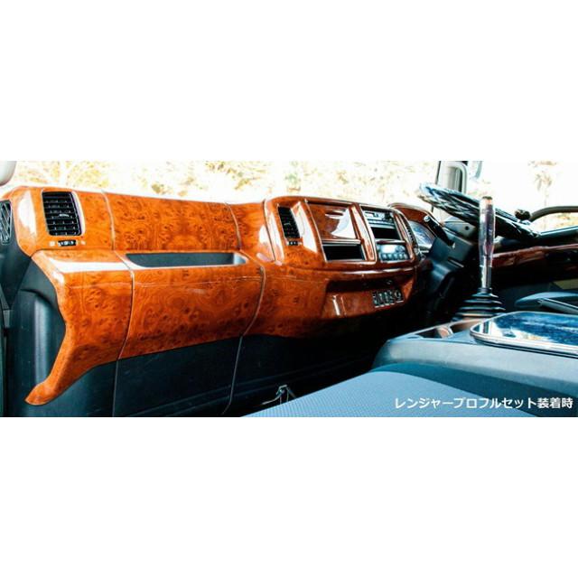 JET インテリア3Dパネル ふそう2tブルーテックキャンター標準車(H22.11~ ) 用 ドアパネルセット ※全2色 [595474_475]