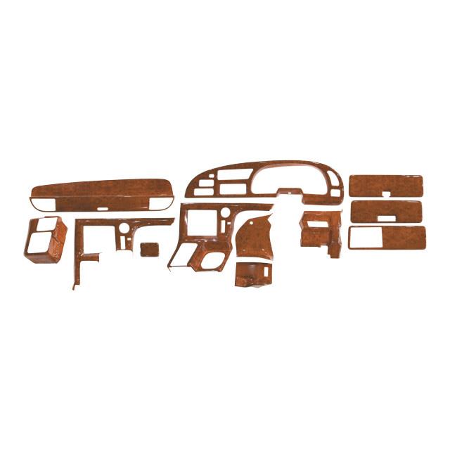 JET インテリア3Dパネル いすゞ大型ギガ/NEWギガ(H6.12~H27.10) 用 基本セット [595441_442]