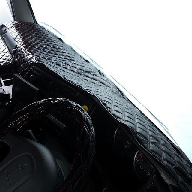 [受注製作] 雅 月光ZERO W ダッシュマット[ダブルステッチ] ●大型車用