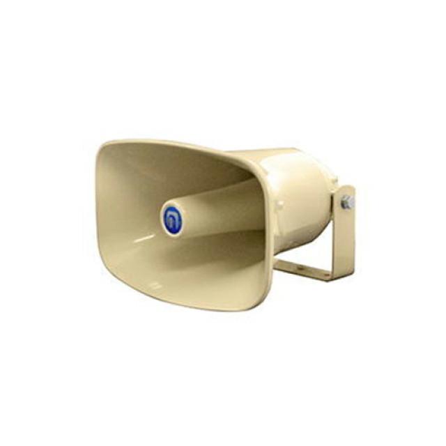 [お取寄せ] ノボル電機 樹脂製ホーンスピーカー クリーム色 1個 (280×180mm 全長250mm 8Ω 15W) [NP-315]