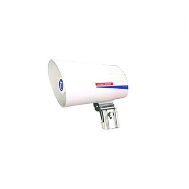 [お取寄せ] ノボル電機 樹脂製スタイリッシュスピーカー ライトグレイッシュホワイト 1個 (130mmφ 全長225mm 8Ω 10W) [SC-134]