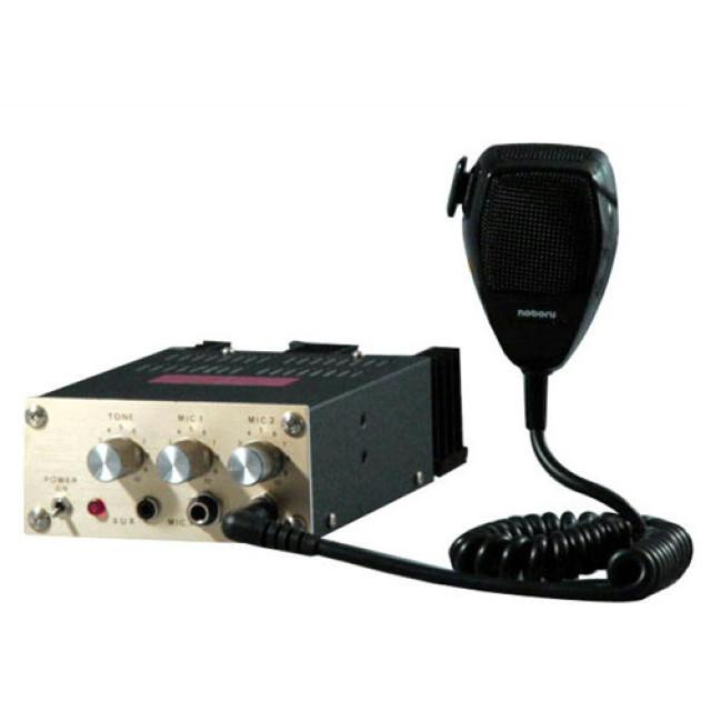 [お取寄せ] ノボル電機 車載用マイク放送用アンプ 24V40W 1個 ※スピーカー別売 [YA-2041]