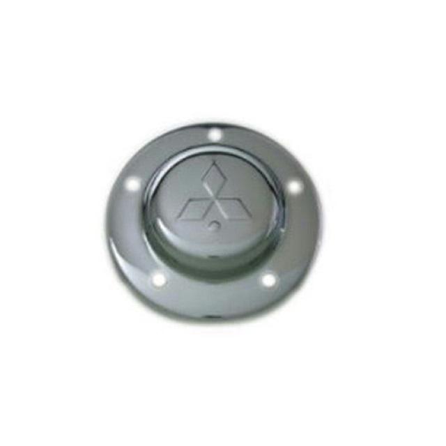 鍛冶屋 フロントメッキハブキャップ[ふそう大型用] L/R 2枚セット[22.5インチ8穴&10穴OK] ※ボルト別売