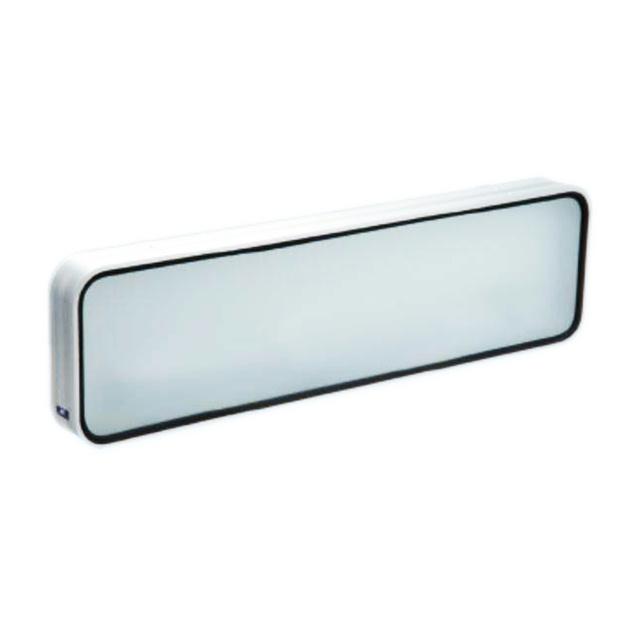 JB アルミ看板灯 小 200×650×奥70mm 蛍光灯付 ※前面ガラス板 [3050323] (アルナ中)