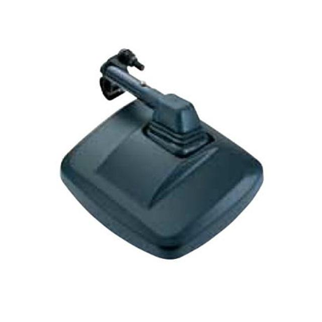 JET 角型サイドアンダーミラー ブラック 200×225mm [501532]