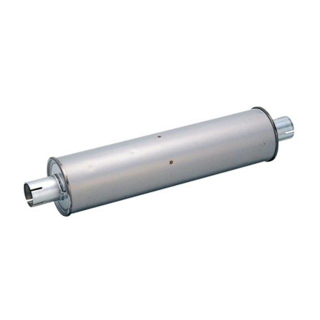 JET TXマフラー 芯無 750mm(タイコ長:600mm)×140mmφ スチール [540004]