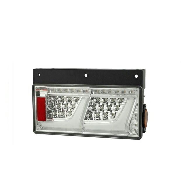 小糸製作所(KOITO) LEDテールランプ 2連 L/R [クリアVer:リレー無(ウィンカー全灯) ] [LEDRCL-24L2C_24R2C]