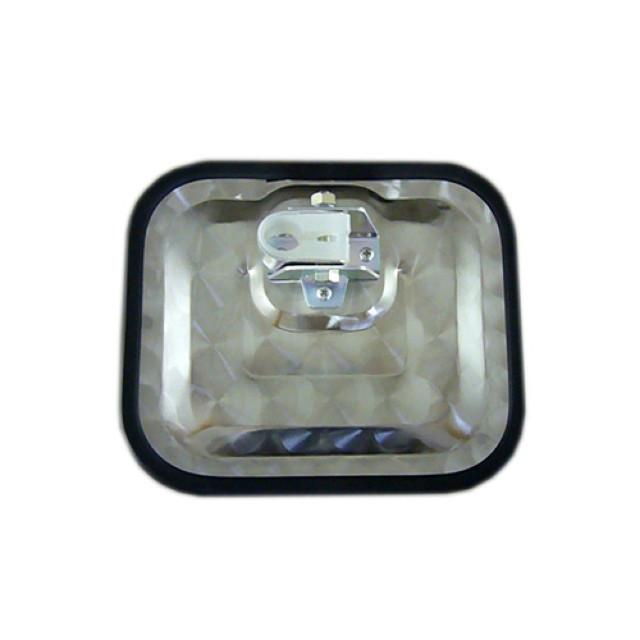 マルイ商会 カスタムミラーステー用 ウロコサイドアンダーミラー 200×240mm