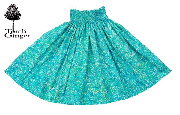 フラダンス衣装 パウスカート フラ スカート パウ バティックパウ サーフ