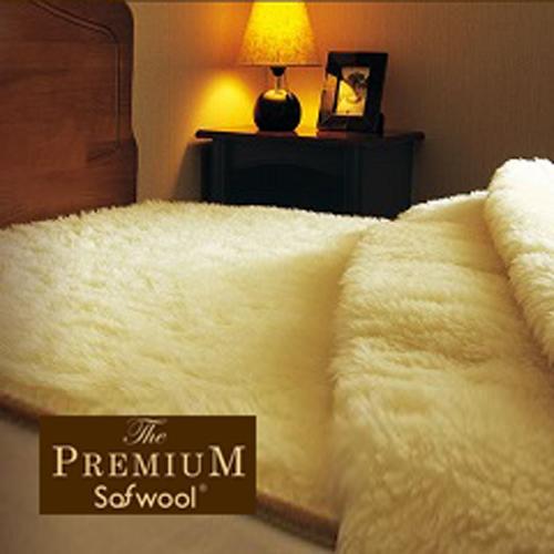 高級メリノウール 敷き毛布 プレミアムソフゥール シングル【羊毛 ウール100 毛布 洗える フリースウール 柔らかい 日本製 送料無料】