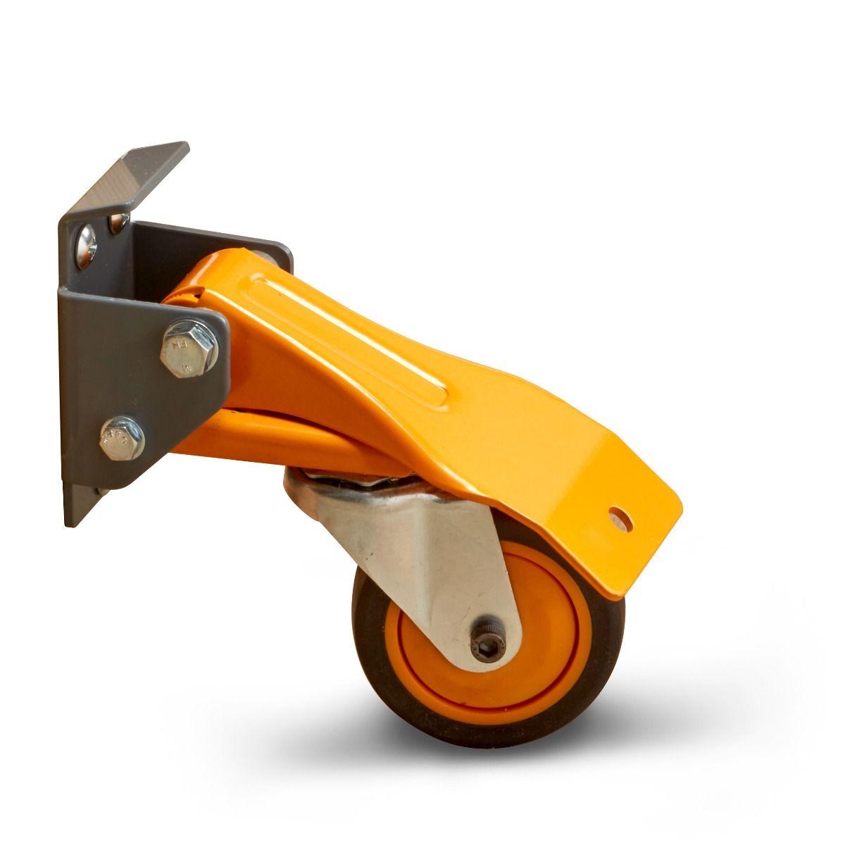 作業台などの移動に便利な車輪 コロ WEB限定 BORA 豊富な品 4個セット ボラ ワークベンチキャスター