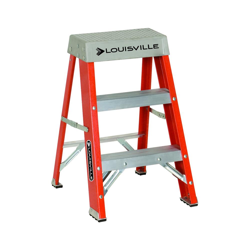 Louisville Ladder(ルイビルラダー) ファイバーステップ[オレンジ]耐荷重135kg【2ft(60cm)】