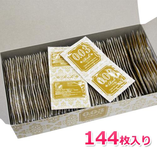 安い 激安 プチプラ 希少 高品質 厚さ0.03mmのうすうすコンドーム 安心梱包可 業務用コンドーム Rich003 144個入 リッチ003 0.03mm Mサイズ