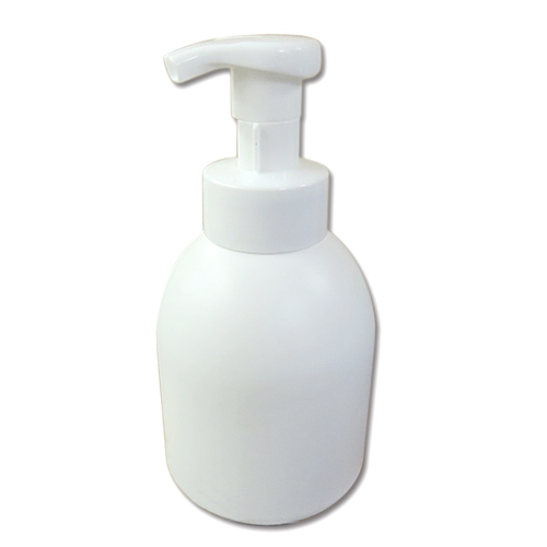 往復送料無料 便利な泡立ちフォームボトル容器 泡立てポンプボトル500ml 白 │泡立ちソープディスペンサー 液体石鹸 泡フォームポンプ容器 海外 液体シャンプーボディーソープの詰め替えに 液体せっけん等の小分けに 5000円以上送料無料