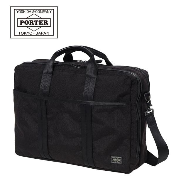 【各種利用でポイント最大24倍!】 吉田カバン PORTER HYBRID BRIEF CASE (737-09203) ポーター ハイブリッド 3WAY B4ブリーフケース ビジネスバッグ バックパック 日本製