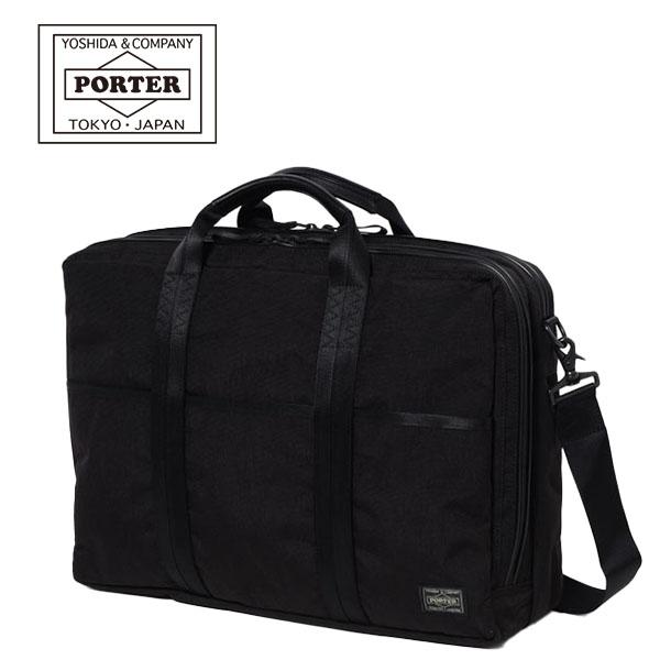 【各種利用でポイント最大25倍!】 吉田カバン PORTER HYBRID BRIEF CASE (737-09204) ポーター ハイブリッド 2WAY B4ブリーフケース ビジネスバッグ 日本製