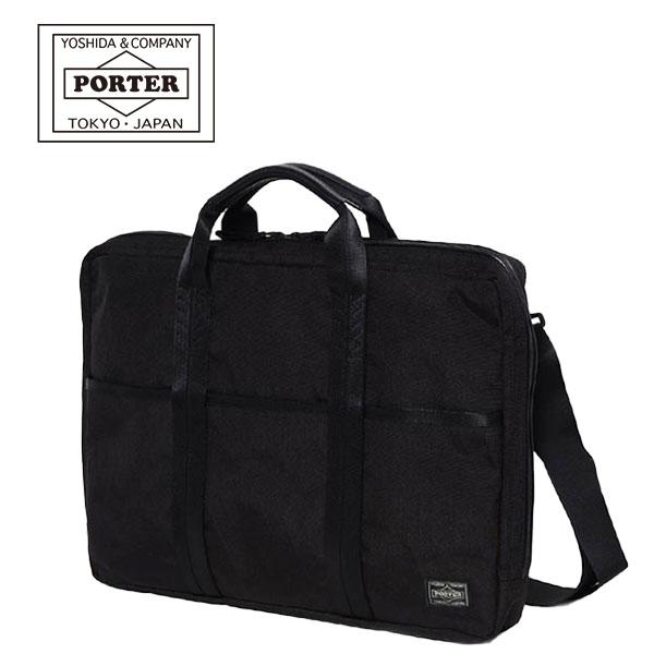 【各種利用でポイント最大25倍!】 吉田カバン PORTER HYBRID BRIEF CASE (M) (737-09206) ポーター ハイブリッド 2WAY B4ブリーフケース ビジネスバッグ 日本製