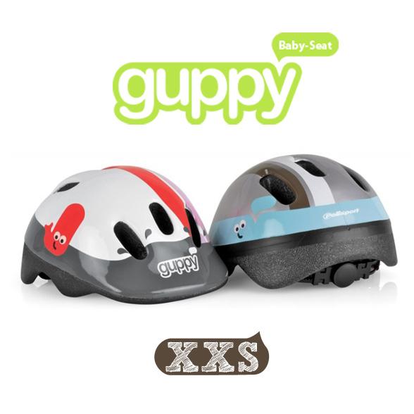 世界基準の安全性 デザインもかわいい子供用ヘルメット BABY HELMET 在庫処分 Guppy 引き出物 XXS 自転車 子供用ヘルメット Polisport ポリスポート グッピー