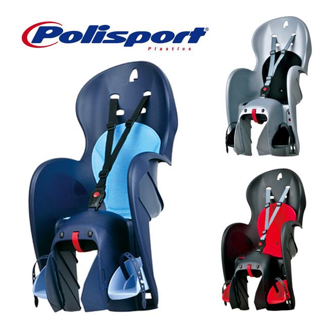 【SALE】Wallaroo CFS for carrier ワラロー CFS(後乗せ・キャリア取付タイプ)自転車 チャイルドシート(子供乗せ) Polisport(ポリスポート)【送料無料】