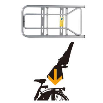 キャリアに取付ける簡単タイプ Yepp 賜物 maxi EASYFIT Carrier イエップ イージーフィット マキシ 宅配便送料無料 キャリア 子供乗せ チャイルドシート 自転車