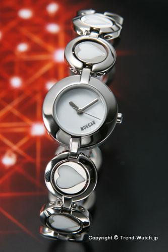 モルガン 【MORGAN】 腕時計 リバーシブル レディースウォッチ ホワイト MG002-1【モルガン 時計】