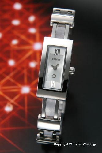 モルガン 【MORGAN】 腕時計 バングル レディースウォッチ シルバー MG014-1【モルガン 時計】