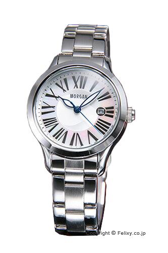 モルガン 【MORGAN】 腕時計 ホワイトシェル(ハートモチーフ) MG603【モルガン 時計】