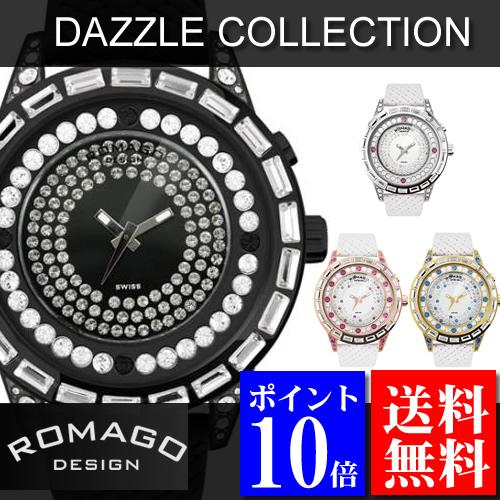 大人女性の ロマゴデザイン RM006シリーズ ROMAGO DESIGN 腕時計 Dazzle Dazzle (ダズル) 腕時計 RM006シリーズ, インポートセレクト musee:07b9df5a --- canoncity.azurewebsites.net