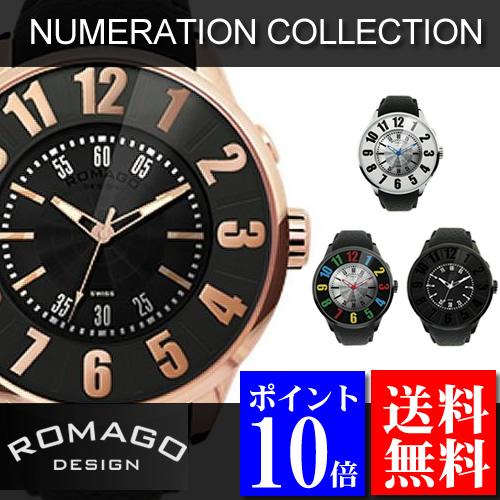 ロマゴデザイン ROMAGO DESIGN 腕時計 Numeration (ヌメレーション) RM007シリーズ