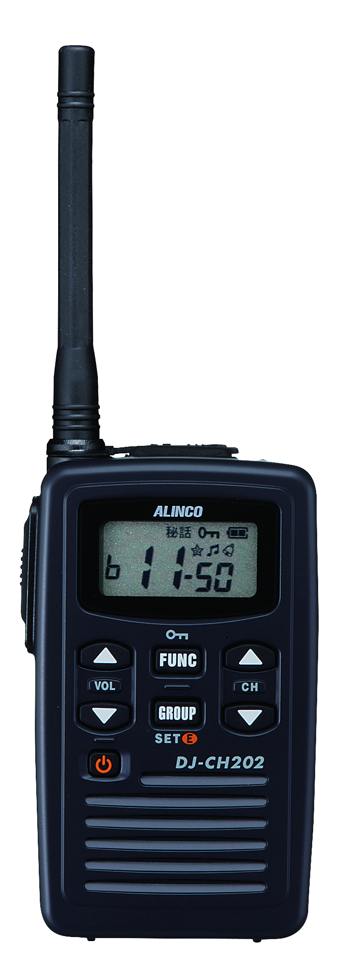 トランシーバー アルインコ DJ-CH202M ミドルアンテナ ( 特定小電力トランシーバー インカム ALINCO )( バッテリー・充電器セット )