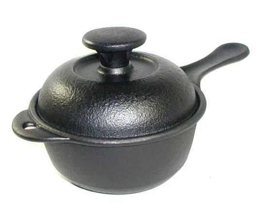 南部鉄器 及精/鉄鍋 煮込み鍋 片手/IH100V対応「使いやすい小ぶりサイズです!」